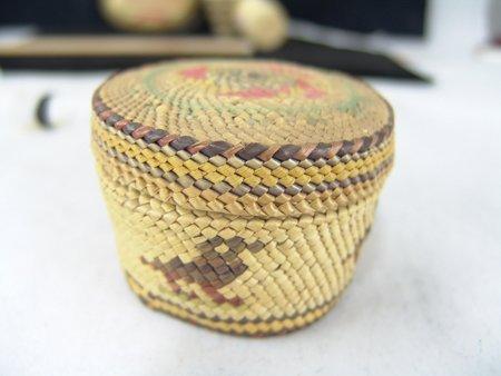 4 Miniature NW Coast/Alaska Baskets - 7