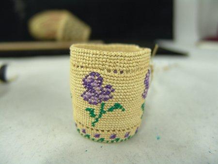 4 Miniature NW Coast/Alaska Baskets - 8