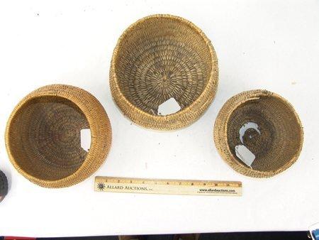 3 Jicarilla Baskets - 2