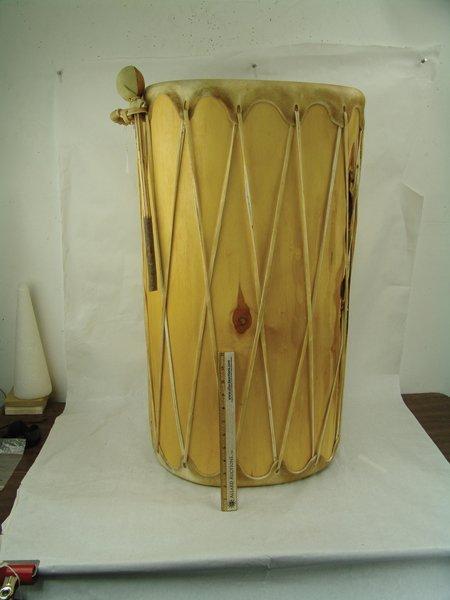 Taos Log Drum - 3