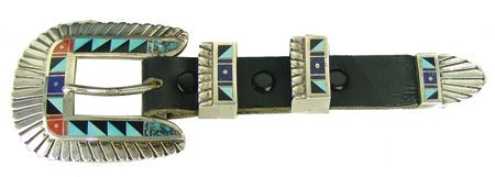 Navajo Buckle Set - Chester Benally