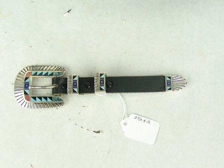 Navajo Buckle Set - Chester Benally - 2