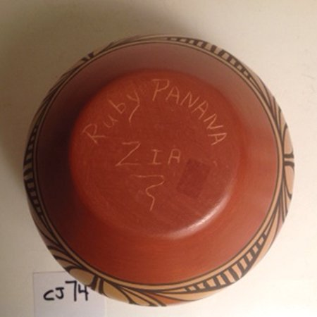 Zia Pottery - Ruby Panana - 4