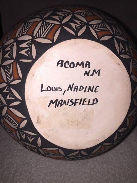 Acoma Vase - Louis & Nadine Mansfield - 3