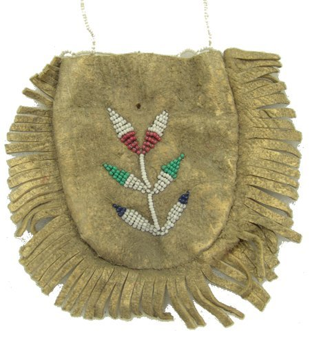 3 Beaded Buckskin Items - 4