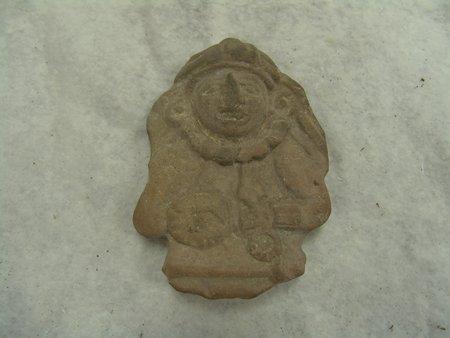 6 Mayan Pottery Figures - 9