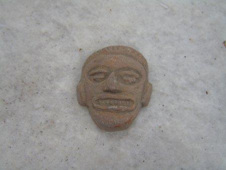 9 Mayan Pottery Figures - 2