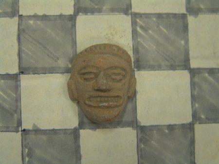 9 Mayan Pottery Figures - 8