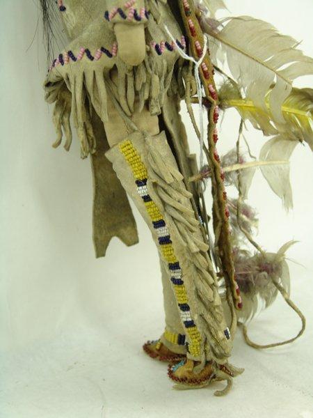 2 Plains Buckskin Dolls - 10
