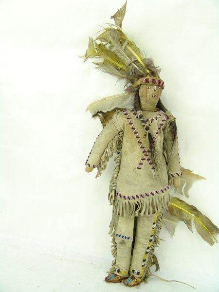 2 Plains Buckskin Dolls - 4
