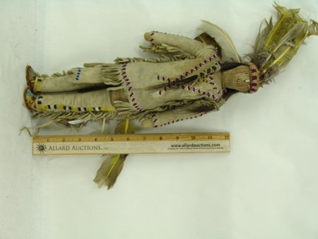 2 Plains Buckskin Dolls - 9