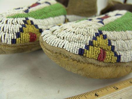 Arapahao Beaded Moccasins - 5