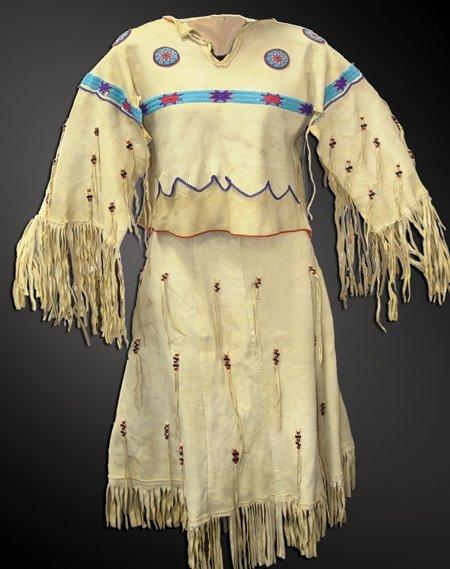 Arapaho Buckskin Dress