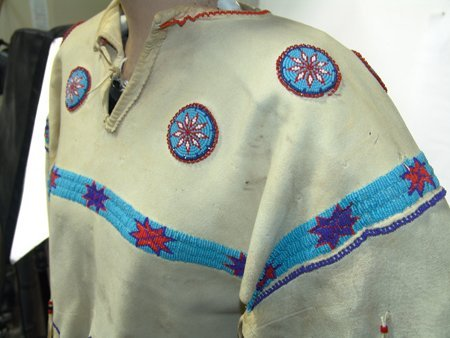 Arapaho Buckskin Dress - 4