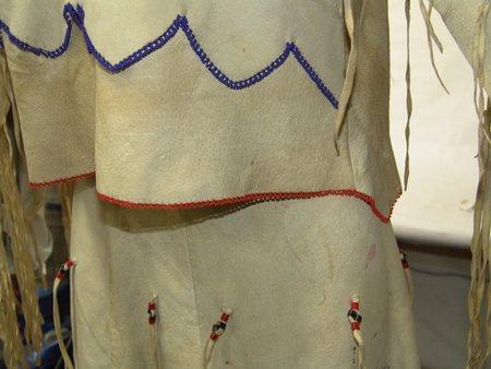Arapaho Buckskin Dress - 5