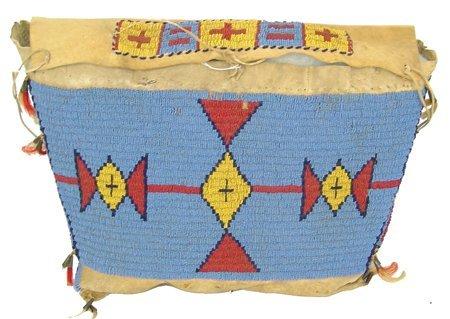 Plains Tepee Bag