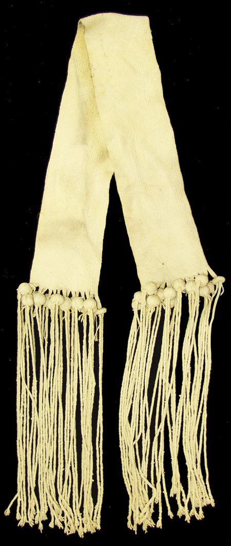 Hopi Wedding Sash - Ben Wuytewa