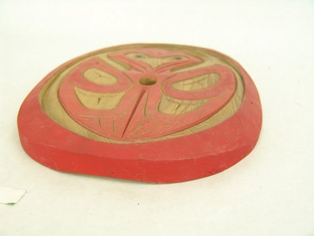 Salish Spindle Whorl Carving - Peter Charlie - 3