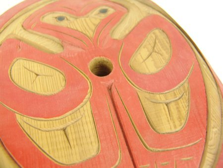 Salish Spindle Whorl Carving - Peter Charlie - 5