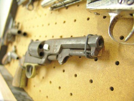 Antique Pistol Display - 10