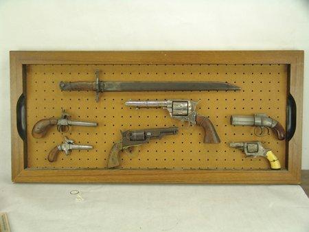 Antique Pistol Display - 2