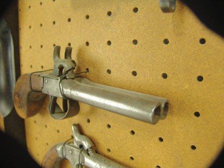 Antique Pistol Display - 3