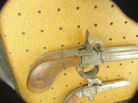 Antique Pistol Display - 4