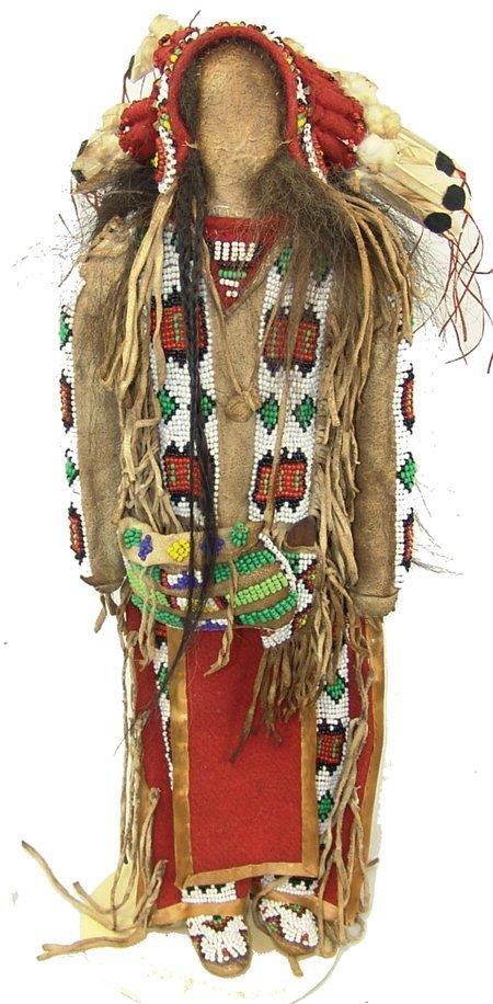 Plains-Style Buckskin Doll