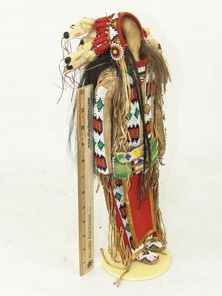 Plains-Style Buckskin Doll - 2