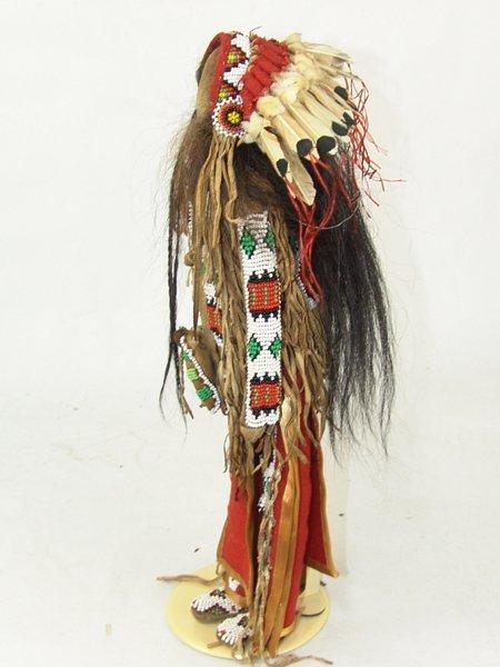 Plains-Style Buckskin Doll - 3