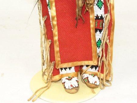 Plains-Style Buckskin Doll - 6