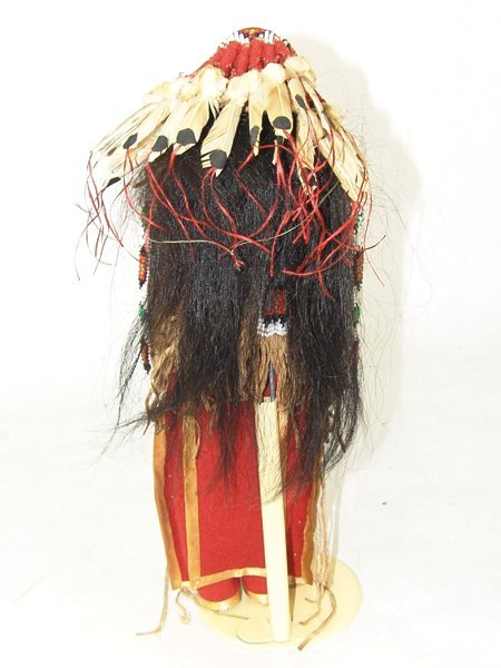 Plains-Style Buckskin Doll - 8