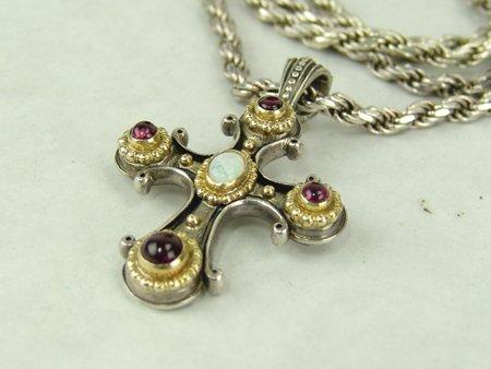 Konstantino Cross Necklace - 3