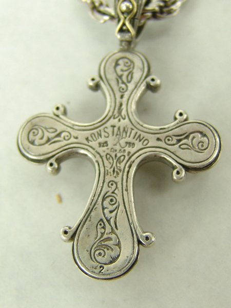Konstantino Cross Necklace - 7