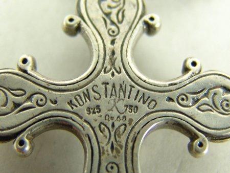 Konstantino Cross Necklace - 8