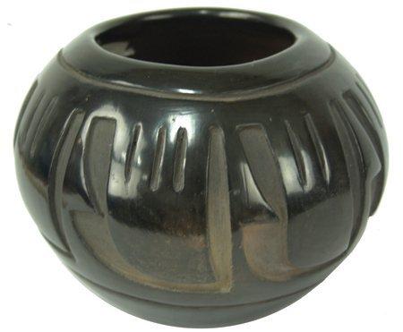 Santa Clara Jar - Pablita Chavarria (1914-1979)