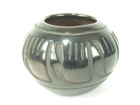 Santa Clara Jar - Pablita Chavarria (1914-1979) - 2