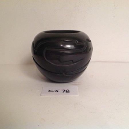 Santa Clara Pottery Jar - 2