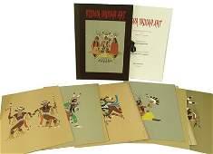 "Complete ""Kiowa Indian Art"" Portfolio (Kiowa 5)"