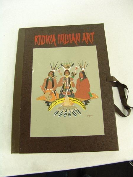 "Complete ""Kiowa Indian Art"" Portfolio (Kiowa 5) - 2"