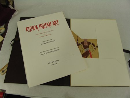 "Complete ""Kiowa Indian Art"" Portfolio (Kiowa 5) - 3"