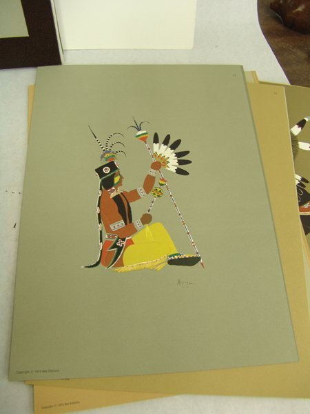 "Complete ""Kiowa Indian Art"" Portfolio (Kiowa 5) - 8"