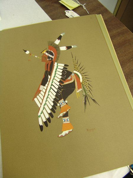 "Complete ""Kiowa Indian Art"" Portfolio (Kiowa 5) - 9"