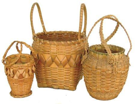 3 Cherokee Baskets