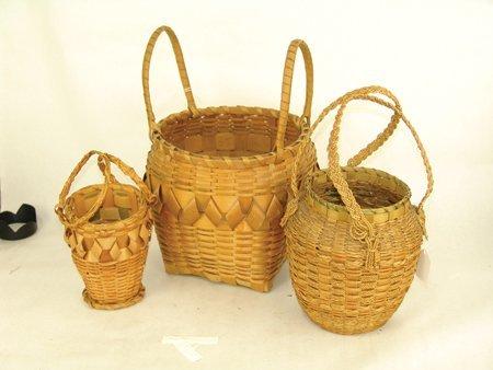 3 Cherokee Baskets - 2