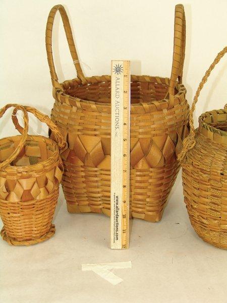 3 Cherokee Baskets - 3