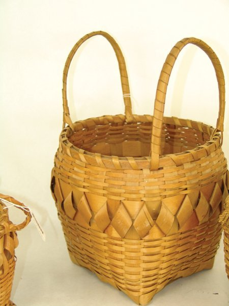 3 Cherokee Baskets - 5