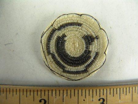 4 Miniature Horsehair Baskets - 5