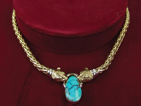 Heavy Gold Necklace - 2
