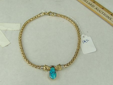 Heavy Gold Necklace - 4